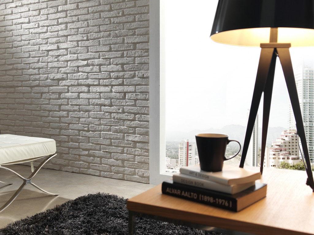 Panel piedra panel stone paneles decorativos para paredes - Pared imitacion ladrillo ...