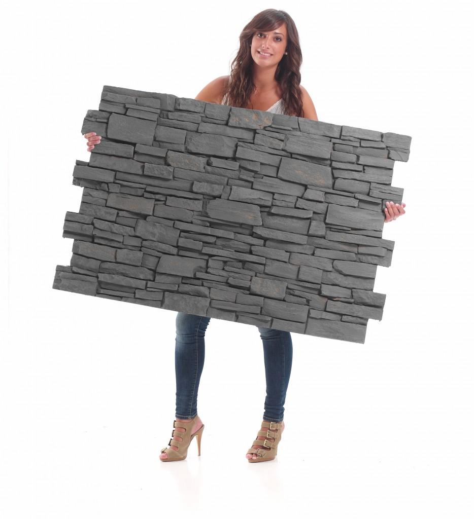 Panel piedra panel stone paneles decorativos para paredes - Paneles para paredes exteriores ...