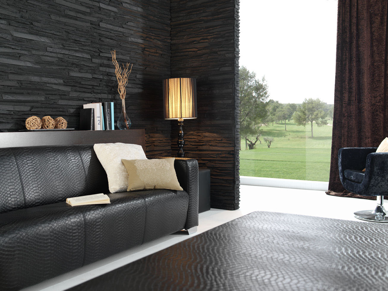 Panel piedra panel stone paneles decorativos para paredes - Plaqueta decorativa barata ...