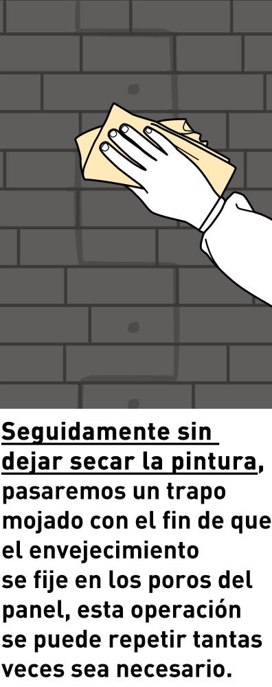 paso 183 Panel Piedra Montaje