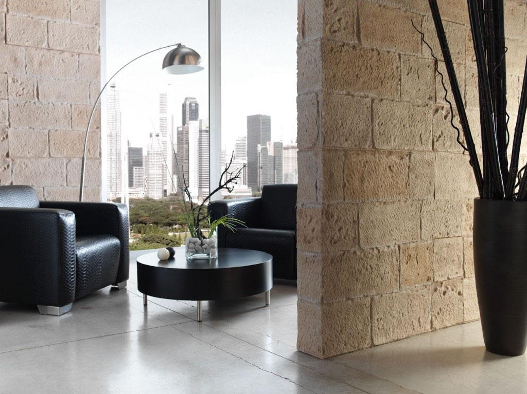 Panel piedra sillar picado - Panel piedra interior ...