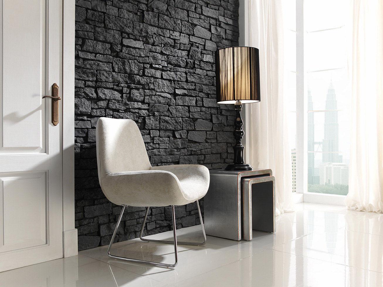 Panel piedra pizarra nepal - Imitacion a piedra para paredes ...