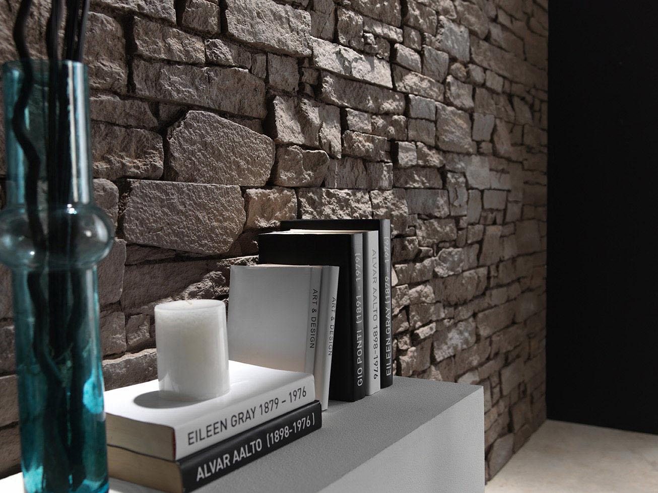 Panel de piedra materiales de construcci n para la - Panel de piedra natural ...