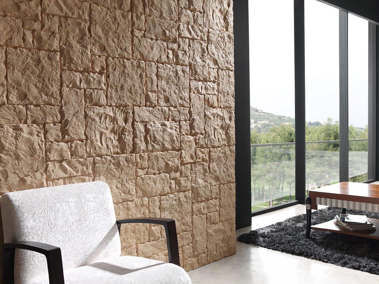Panel piedra mamposteria regular - Piedra de interior ...
