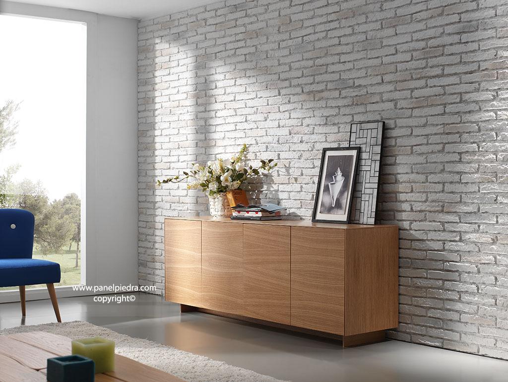 Panel piedra ladrillo de adobe - Plaquetas decorativas para paredes ...