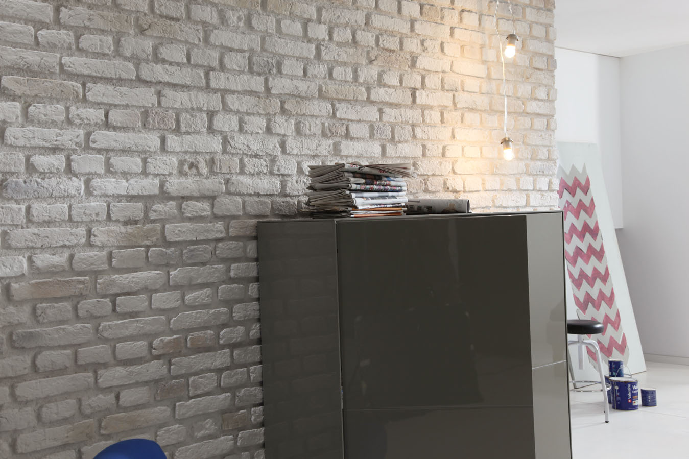 Panel ladrillo urban - Revestimientos de chimeneas leroy merlin ...