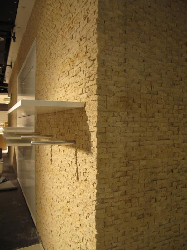 Panel piedra concept ocre panel piedra paneles de - Paneles de poliuretano imitacion piedra ...