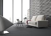 Paneles de Diseño 3d Essence, Revestimiento de paredes imitación ondas