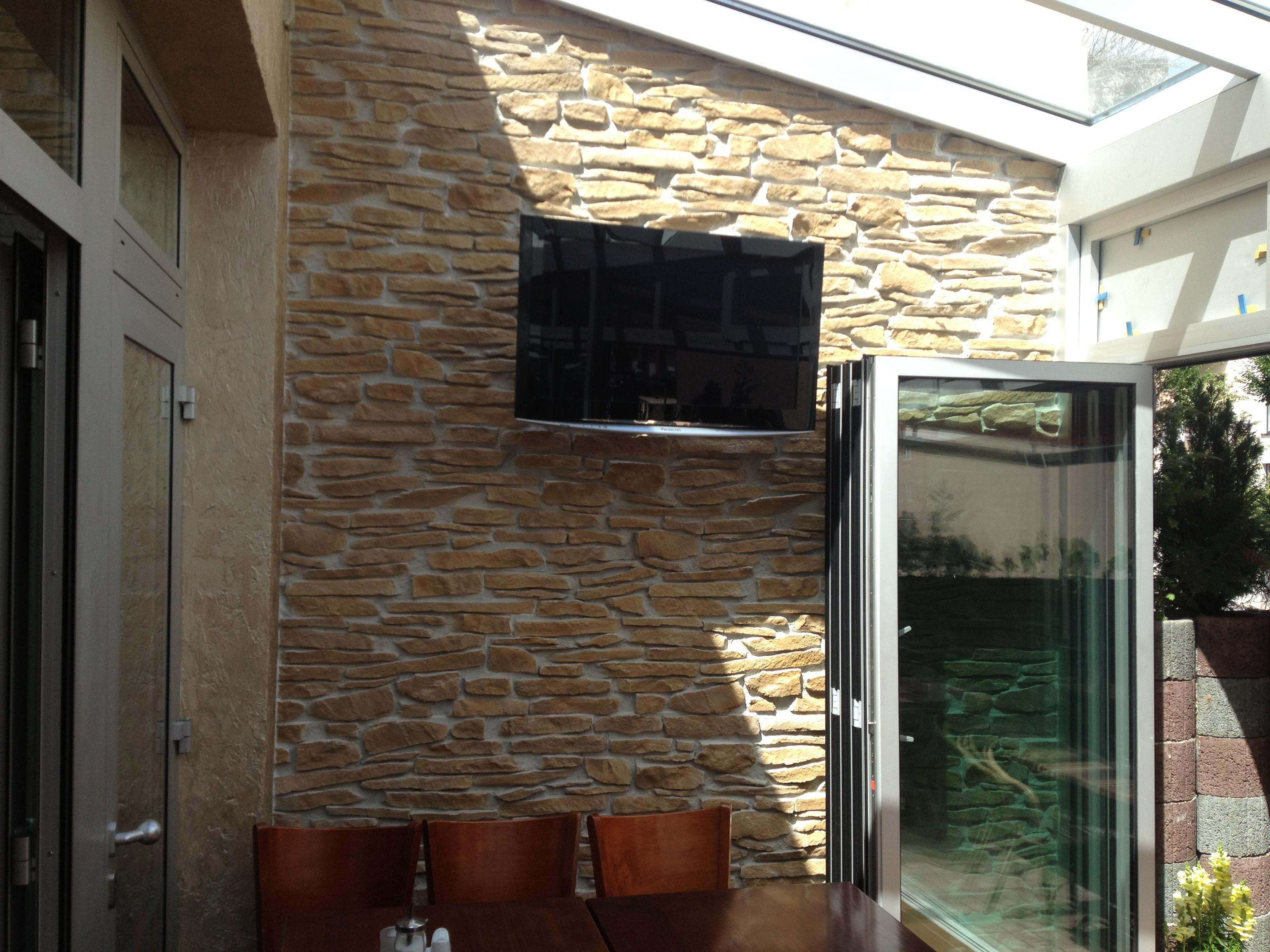Paneles decorativos de poliuretano beautiful de - Paneles de madera para exterior ...