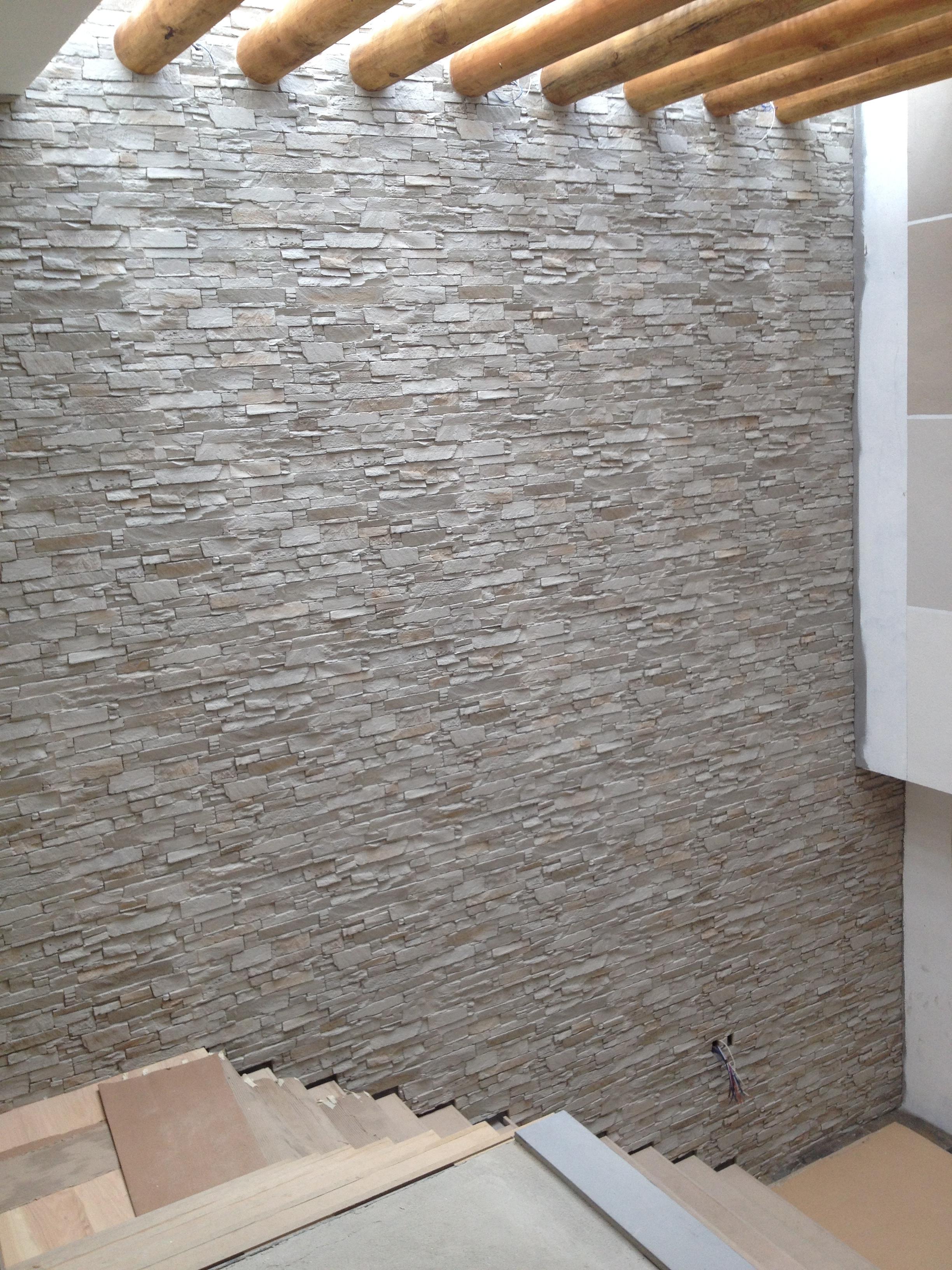 Panel piedra andes blanco arena panel piedra paneles de piedra paneles decorativos - Paneles decorativos poliuretano ...