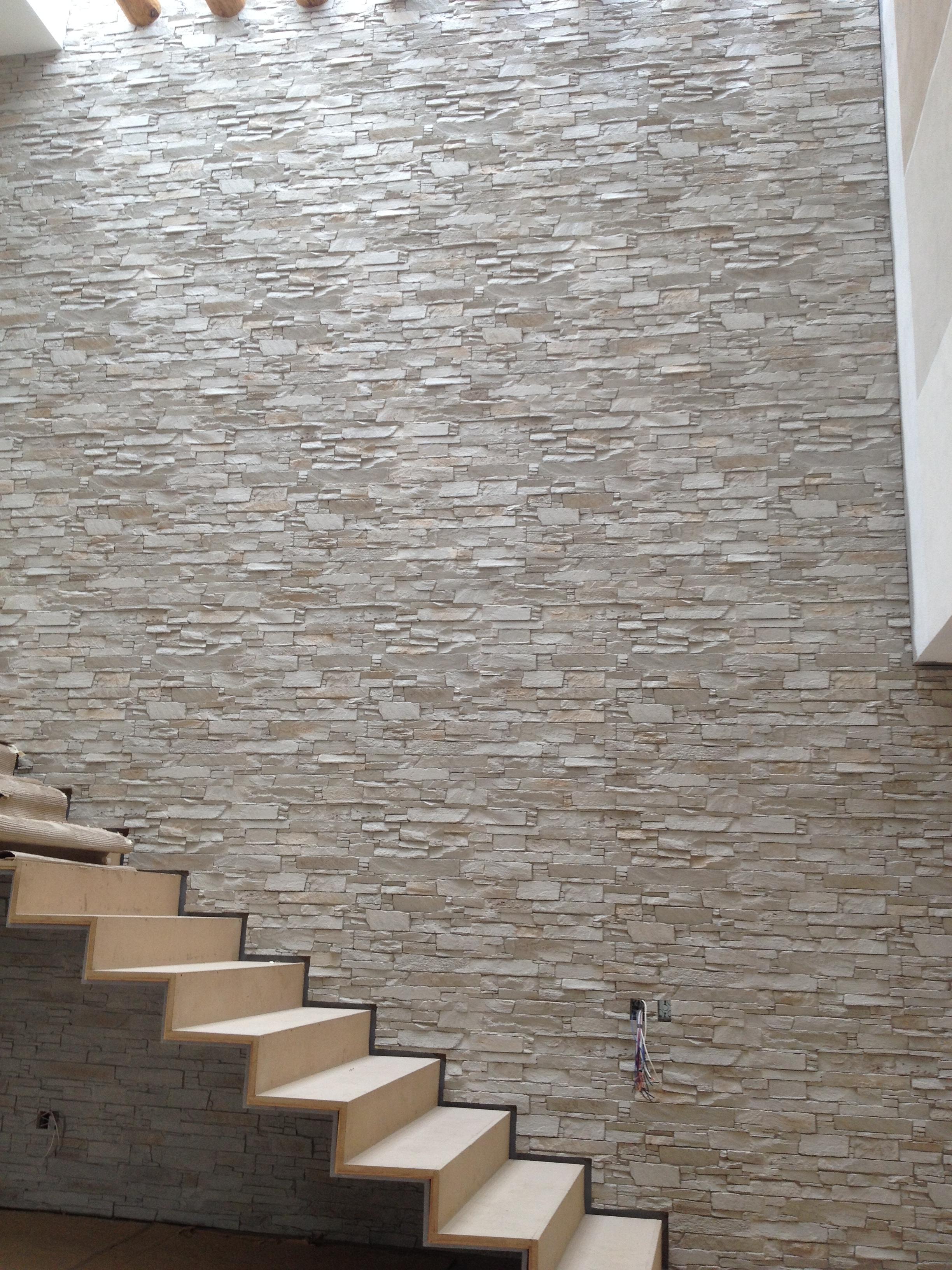 Panel piedra andes blanco arena panel piedra paneles - Paneles de piedra artificial ...