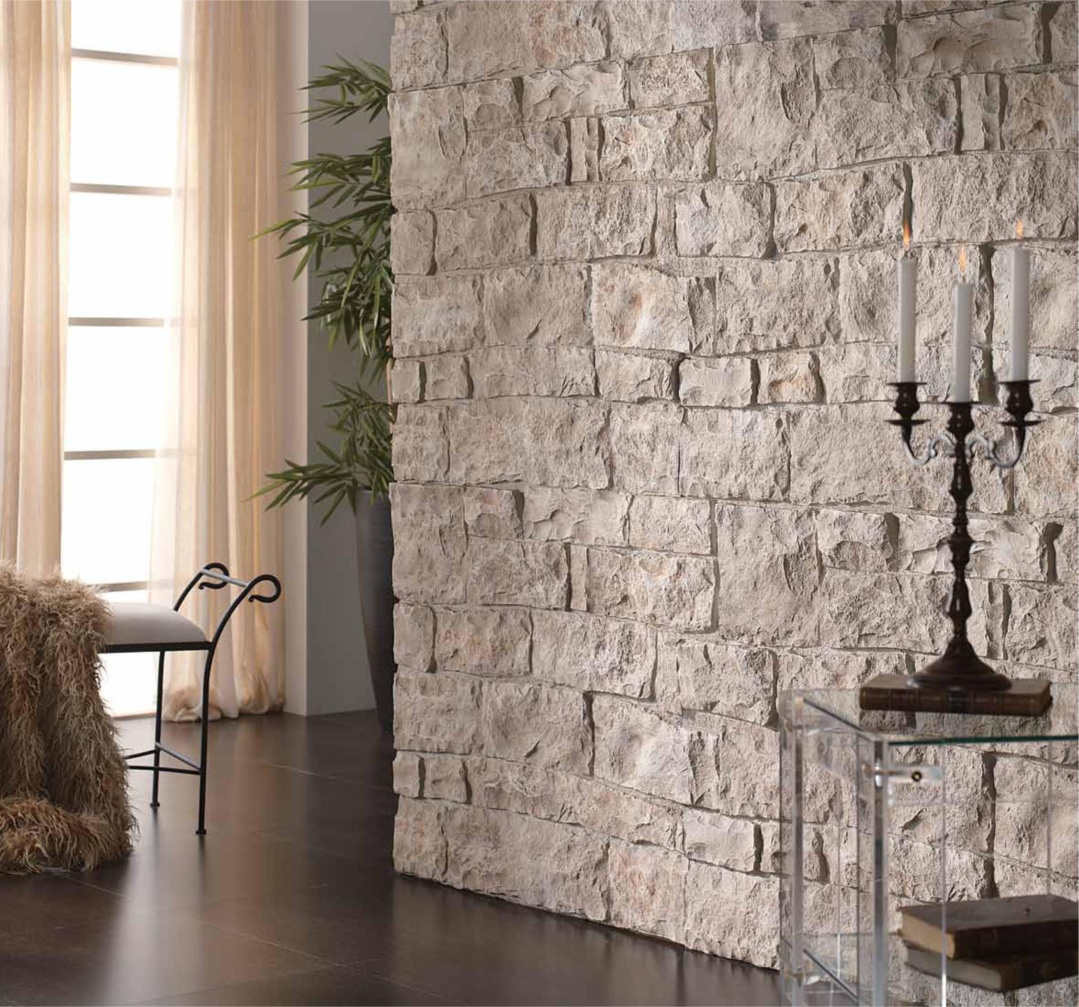 Como imitar piedra en paredes
