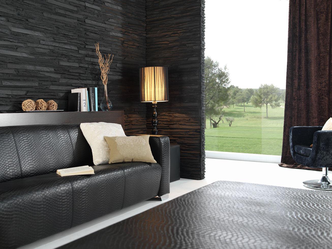 Home Interior Desing Panel Piedra Laja Fina Revestimiento Para Paredes