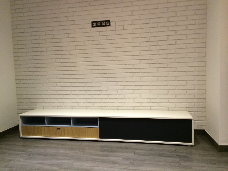 Panel ladrillo caravista blanco - Imitacion a ladrillo ...