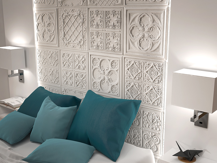 Paneles decorativos vintage panel piedra paneles de - Paneles decoracion paredes ...